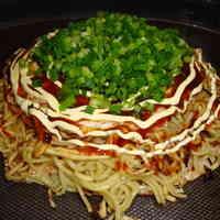My Husband's Hiroshima-style Okonomiyaki (with photos)