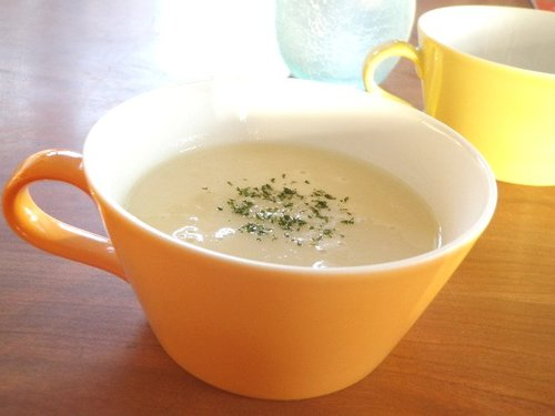 Easy ❤ Turnip and Soy Milk Potage ❤