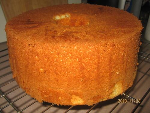 Easy Fluffy Buttermilk Chiffon Cake