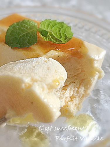 Luxurious Vanilla Ice Cream Parfait