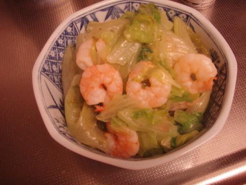 Salted Lettuce Stir-Fry
