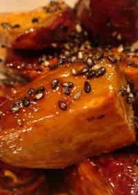 Non-Fried Simple Candied Sweet Potatoes