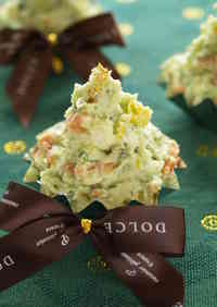 Creamy Christmas Tree Salad