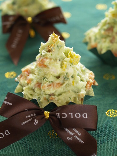 Creamy Christmas Tree Salad