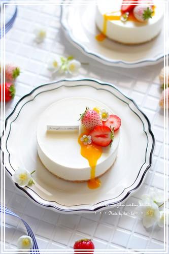 Mild No-bake Cheesecake