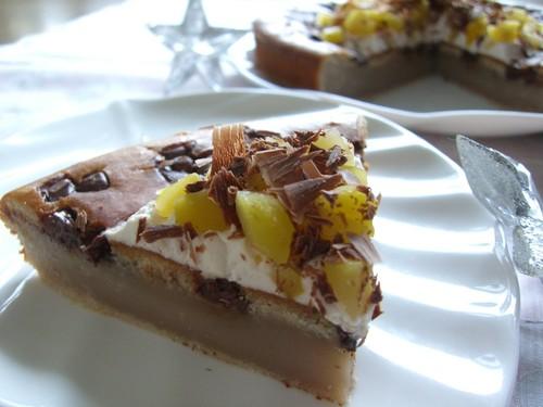 Chocolate-Chestnut Cheesecake