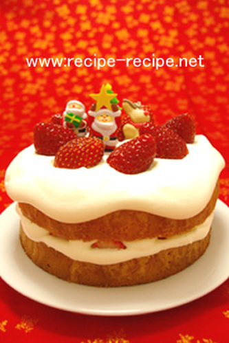 Simple and Delicious! Christmas Shortcakes