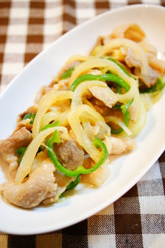 Pork Miso and Ginger Stir Fry