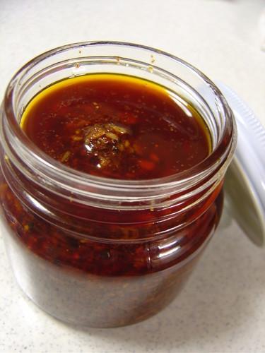 Chunky Homemade Ra-yu Spicy Chili Oil