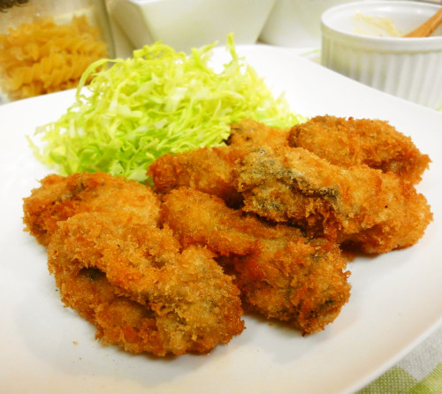 Basic Breaded Deep Fried Oysters