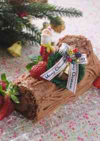 Buche de Noel for Christmas