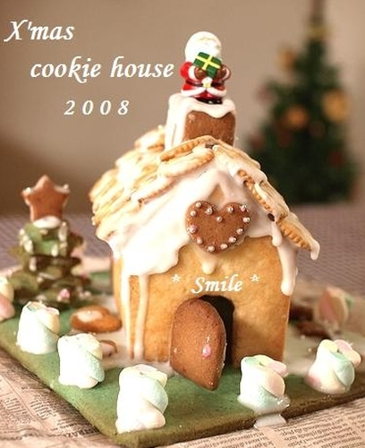 Christmas Cookie House