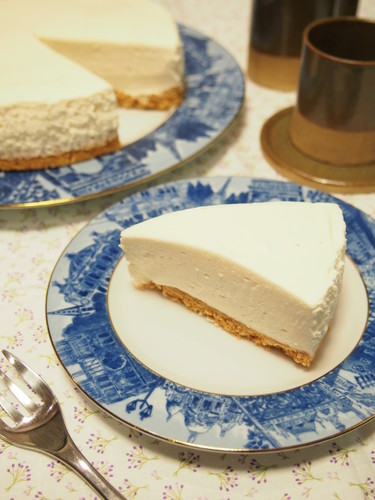 My Husband's Favorite No-bake Cheesecake