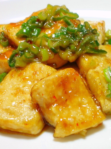 Sweet, Spicy, Rich Tofu Steaks