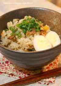 Easy Mixed Rice with Canned Pacific Saury