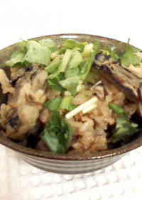 Mixed Rice with Red Miso and Oysters