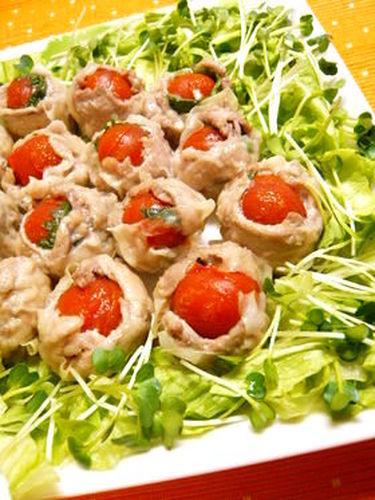 Easy Pan-fried Tomato Shumai Dumplings