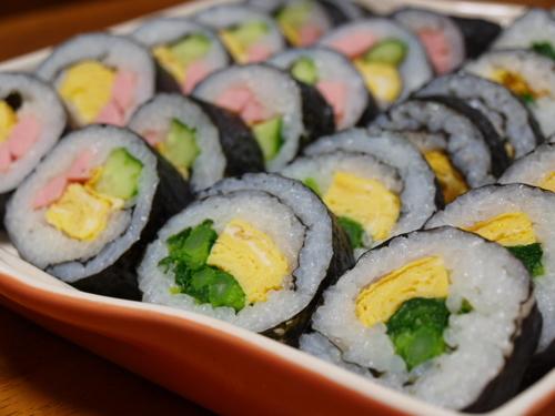 Broccolini Sushi Rolls