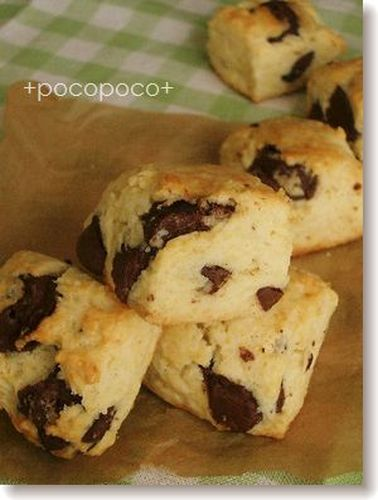 Easy Chocolate Scones