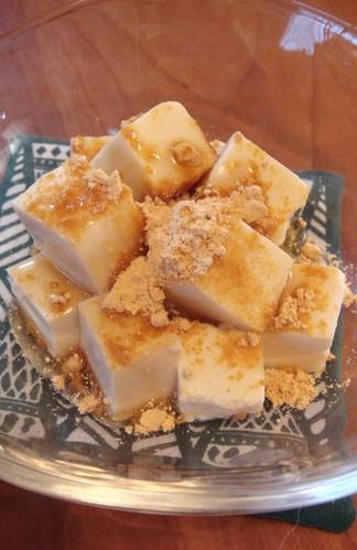 Kuzumochi-Style Tofu Dessert