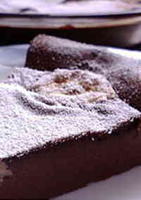 Chocolate-Flavored Banana Clafouti