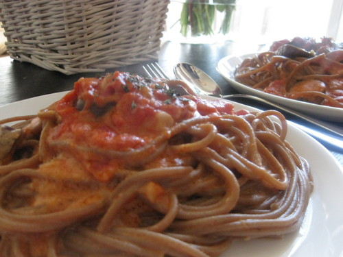 Recommended for Beginners!  Tomato Cream Pasta