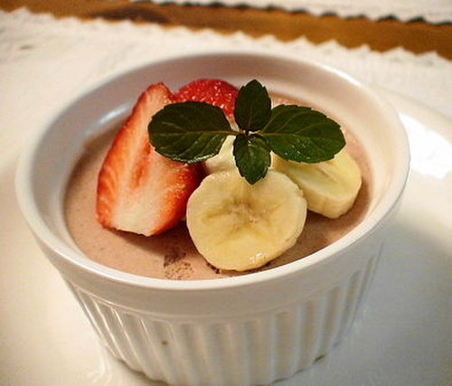 Delicious Chocolate Banana Mousse