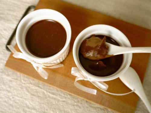 Eat with a Spoon! Chocolate Ganache