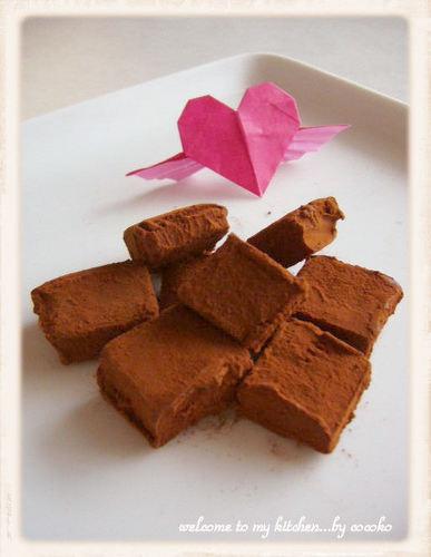 Handmade Chocolate Truffles