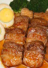 Pork Belly Simmered in Ketchup