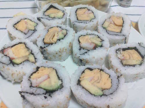 Roll 'Em Up! California Rolls