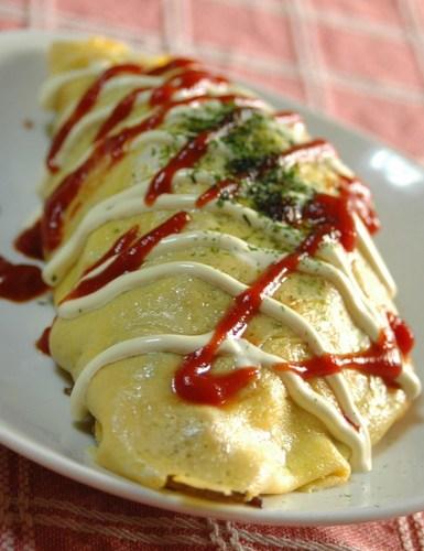 Omu-Soba: Yakisoba Noodle Omelettes