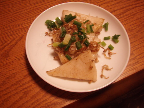 For Bentos - Sautéed Turnips and Crunchy Tiny Fish (Jako)