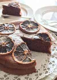 Light but Authentic Gateau au Chocolat