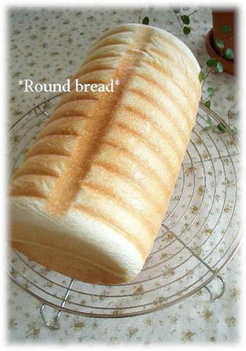 Basic Round Bread made in a Moravian Loaf Pan