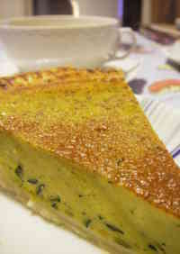 Soy Milk Kabocha Squash Pie with Easy Puff Pastry