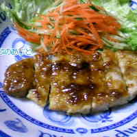 Soft Japanese-Style Pork Steak with a Hint of Wasabi