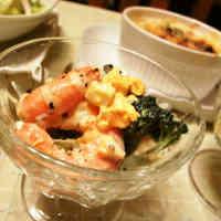 Broccoli and Shrimp Tartare Salad