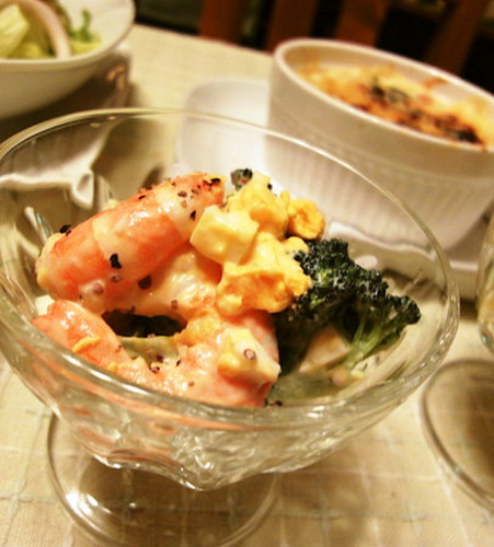 Broccoli and Shrimp Tartare Salad