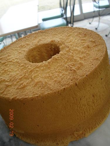 Basic Milk Chiffon Cake
