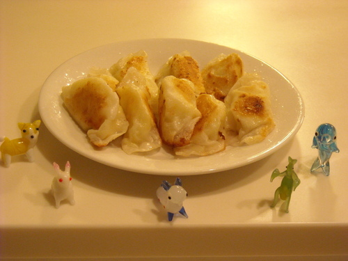 ☆Crispy Potato Gyoza☆