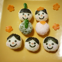 Children Love These! Decorative Hina Doll Temarizushi | Washoku.Guide