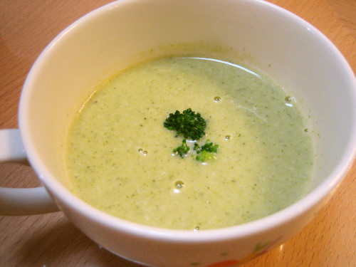 Easy Broccoli and Corn Potage