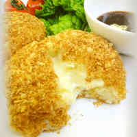 Non-fried! Creamy Cheese Croquettes