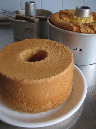 Basic Plain Chiffon Cake