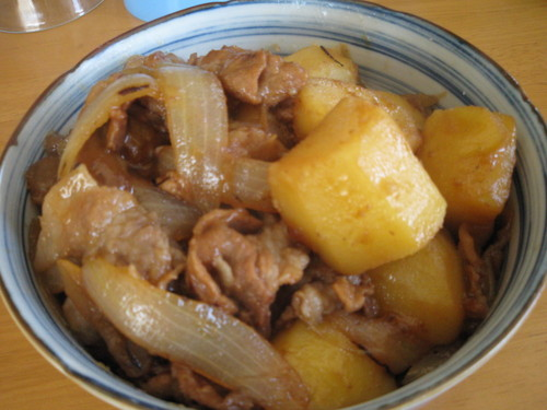 Delicious Cooked over High Heat! Nikujaga (Simmered Meat and Potatoes)