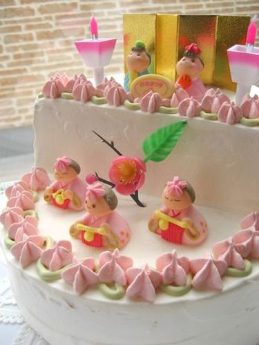 Doll Platform Cake (2 & 3 Tier) for Girl's Day