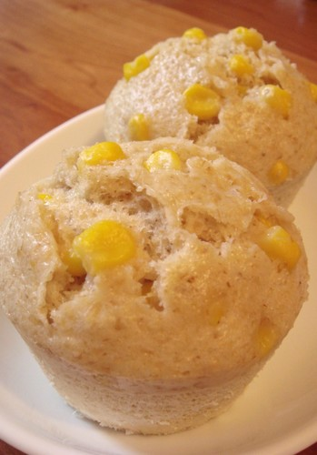 Oatmeal and Corn Steamed Bread