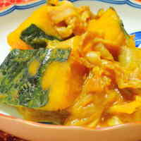 Rich & Sweet Stewed Kabocha