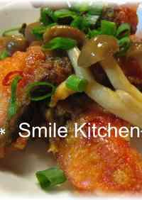 Salmon and Mushroom Roasted Nanban